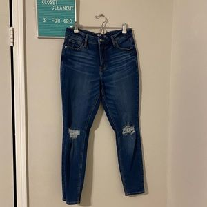 3for20 super skinny high-rise distressed jean